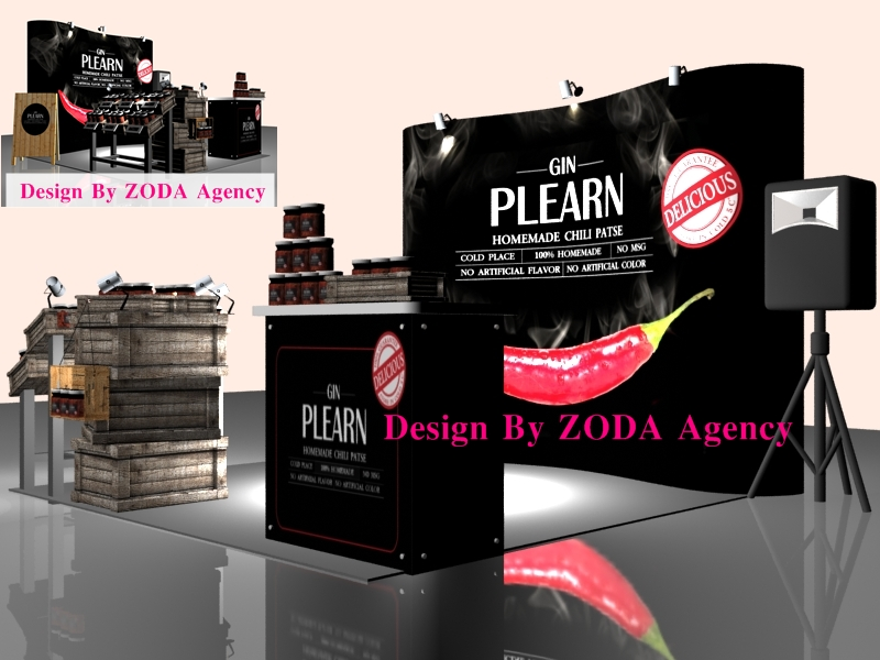 Zoda Agency รับออกแบบและผลิต บูธ Booth & Exhibition